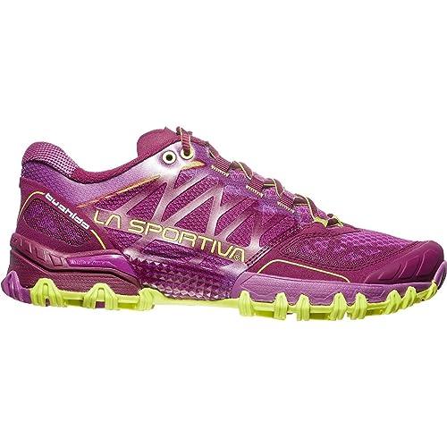 La Sportiva Bushido Woman, Zapatillas de Trail Running Unisex Adulto, (Plum/Apple Green 000), 38 EU: Amazon.es: Zapatos y complementos