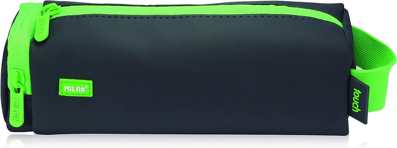Milan Touch Estuches, 20 cm, 1 litros, Verde: Amazon.es: Equipaje