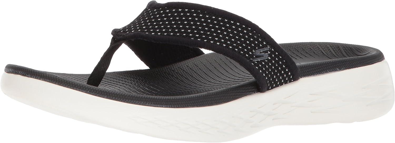 Skechers 15300, Sandalias de Punta Descubierta para Mujer