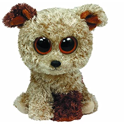 Ty Beanie Boos Rootbeer Terrier Plush, Medium: Toys & Games