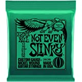 Ernie Ball 2626 Not Even Slinky Electric Guitar Strings 12-56 2 Pack