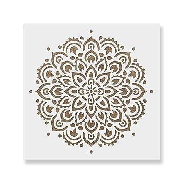 Mandala Pochoir Réutilisable Grand Ou Petit Mandala Kit Pochoirs