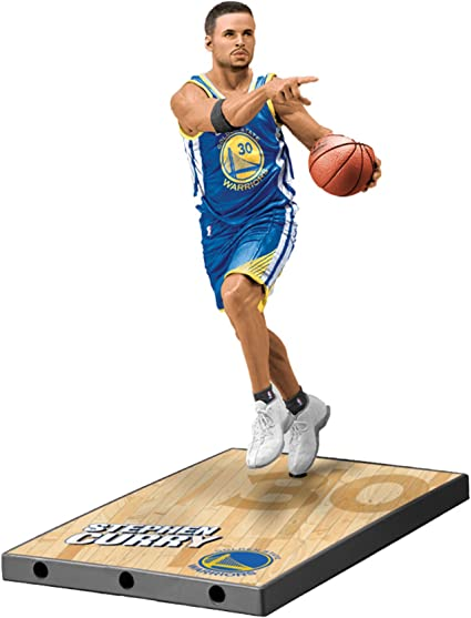 McFarlane NBA Series 28 Stephen Curry G.S WARRIORS Action Figure