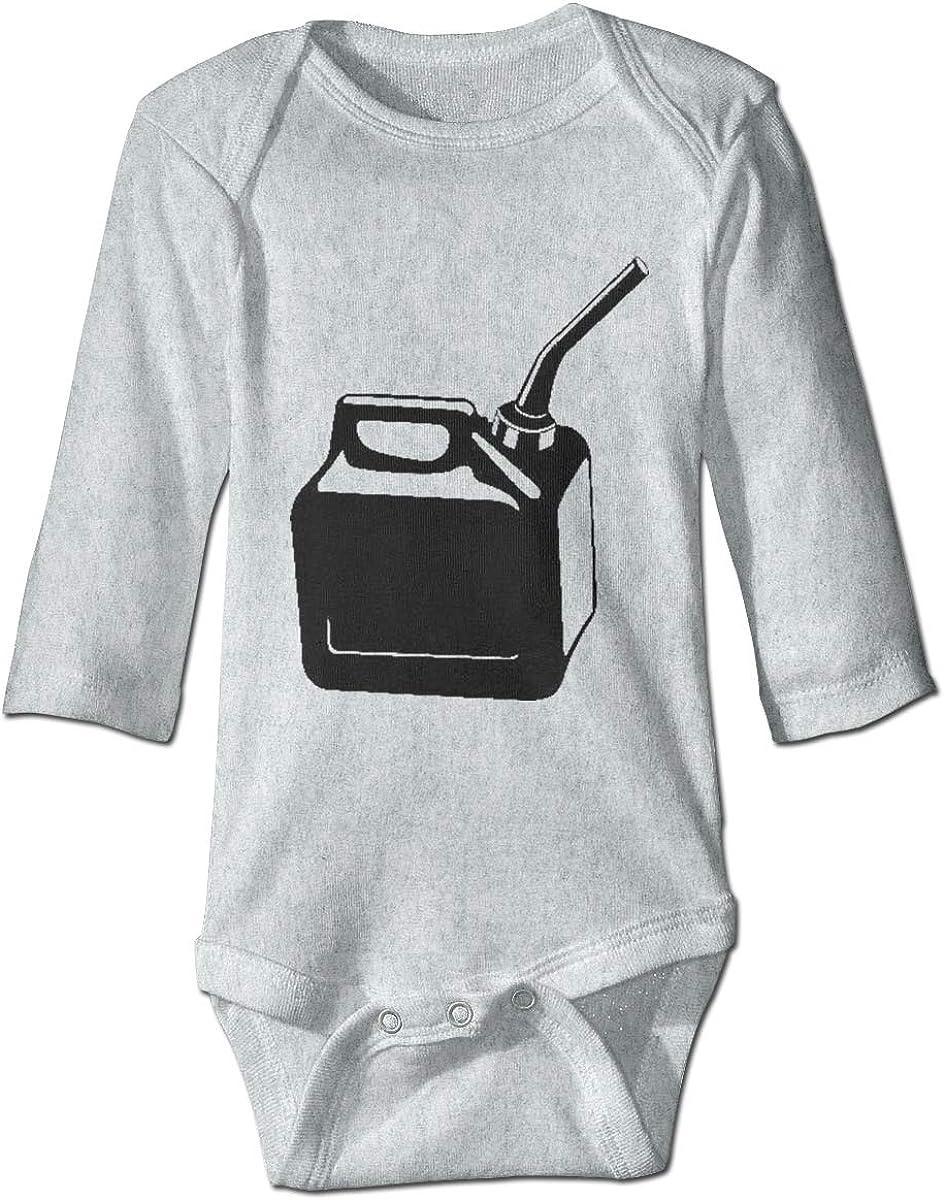 Marsherun Baby Boys Girls Gascan HD Long Sleeve Climbing Bodysuits Playsuits
