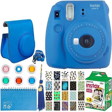 Fujifilm Instax Mini 9 Instant Film Cámara + Fujifilm Instax Mini ...