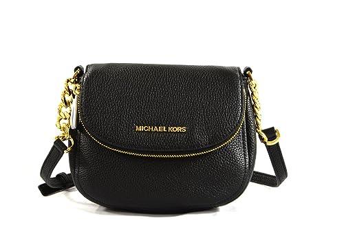 Michael Kors Leather Bedford Flap Crossbody Handbag