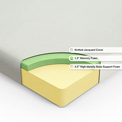 Sleep Master Ultima Comfort Memory Foam 6 Inch Mattress