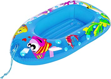 Palgrave Children/'s Sea Life Design Inflatable Pool Boat 2-4 Years