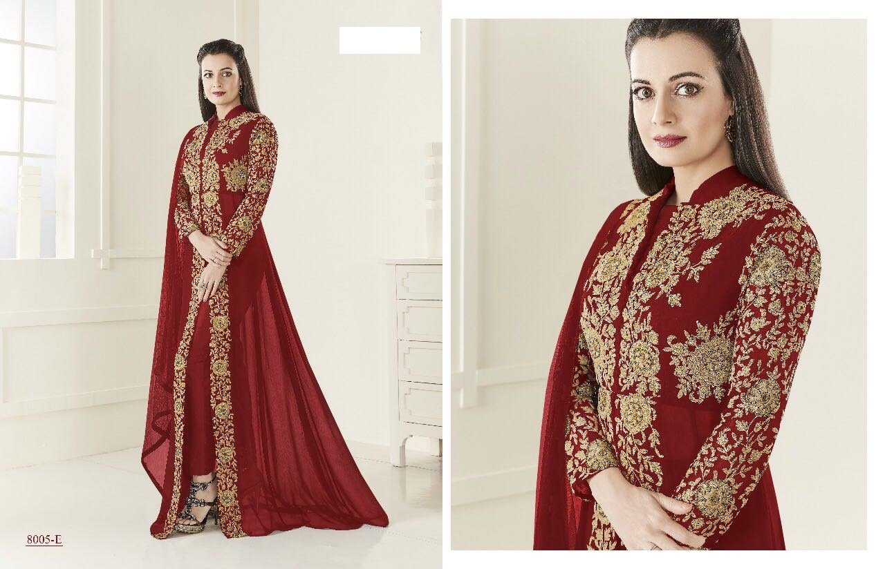 Vestido de novia hindú, de moda lista para llevar en talla europea 32 a 44, vestido de fiesta Anarkali Salwar, vestido de novia 567: Amazon.es: Bricolaje y ...