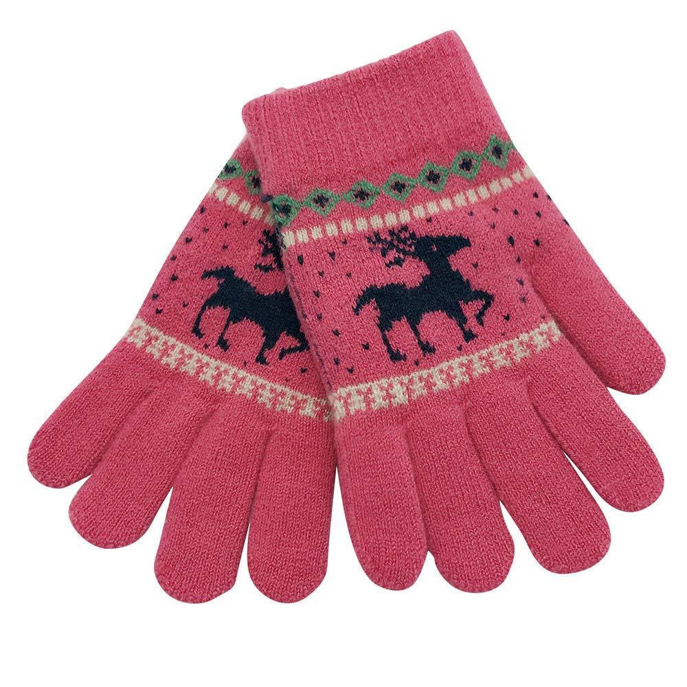 Weihnachten Baby, Covermason Kinder Winter Warm Handschuhe Karikatur Hirsch Finger Fäustlinge Gestrickt Handschuhe Alice