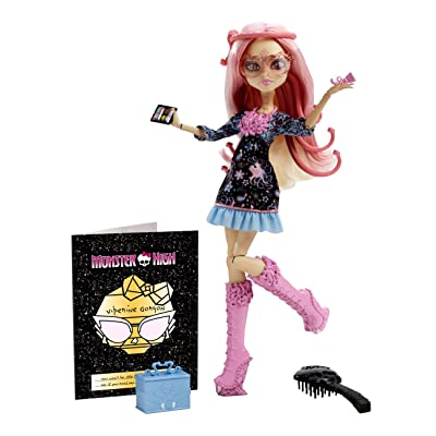 Mattel Monster High blx03–Lumière en hantée à Deluxe viperine Gorgon, poupée avec accessoires