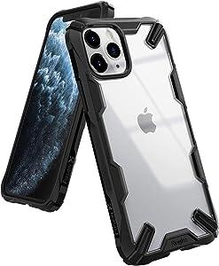 Ringke Fusion-X Diseñado para Funda Apple iPhone 11 Pro MAX, Transparente al Dorso Carcasa iPhone 11 Pro MAX 6.5