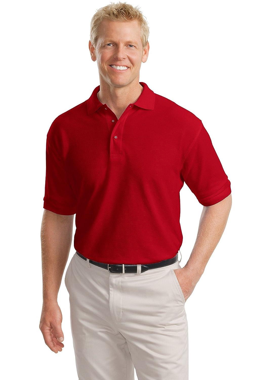 Port Authority Tall Silk Touch Polo Shirt, 2XLT, Royal