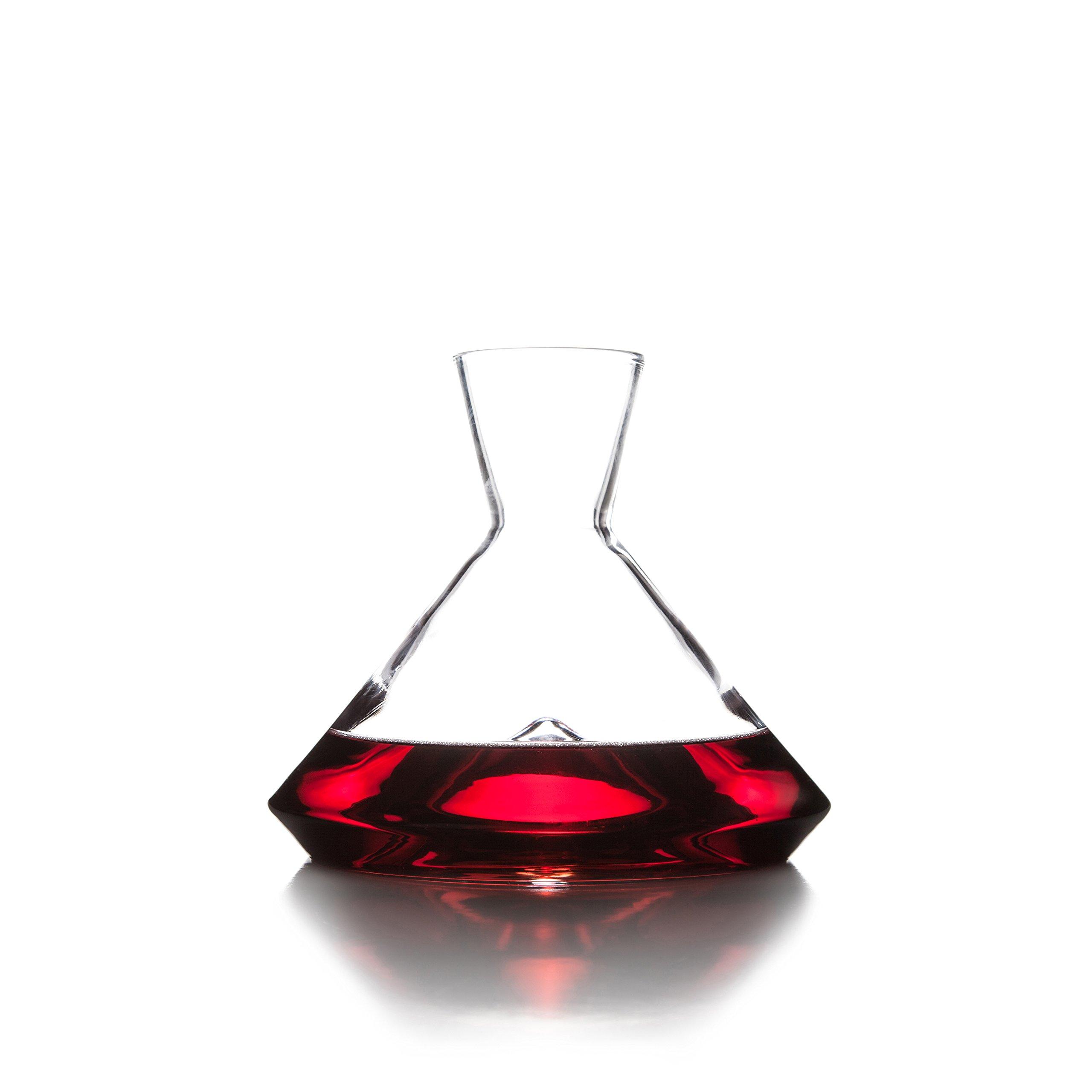 Sempli Monti-Decanter, Clear Wine Decanter