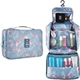 Hanging Travel Toiletry Bag Blibly Makeup Cosmetic Organizer Bag for Woman and Girls Bathroom and Shower Organizer Bag Waterp