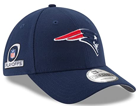 huge discount 1bf1b ec63b Image Unavailable. Image not available for. Color  New England Patriots New  Era 9Forty NFL The League Playoff Patch Adjustable Hat