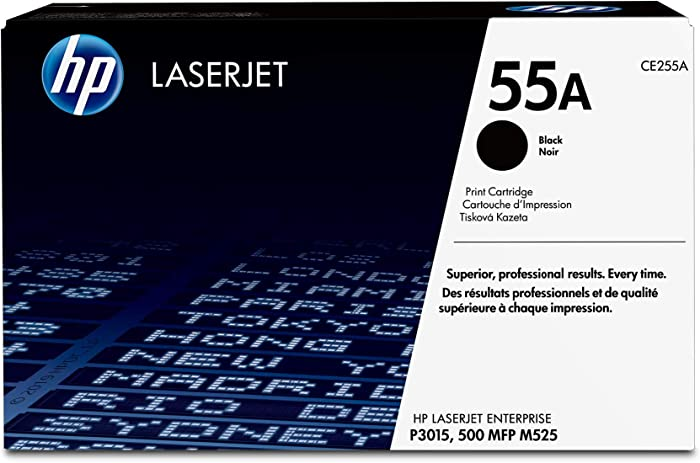 HP 55A | CE255A | Toner Cartridge | Black
