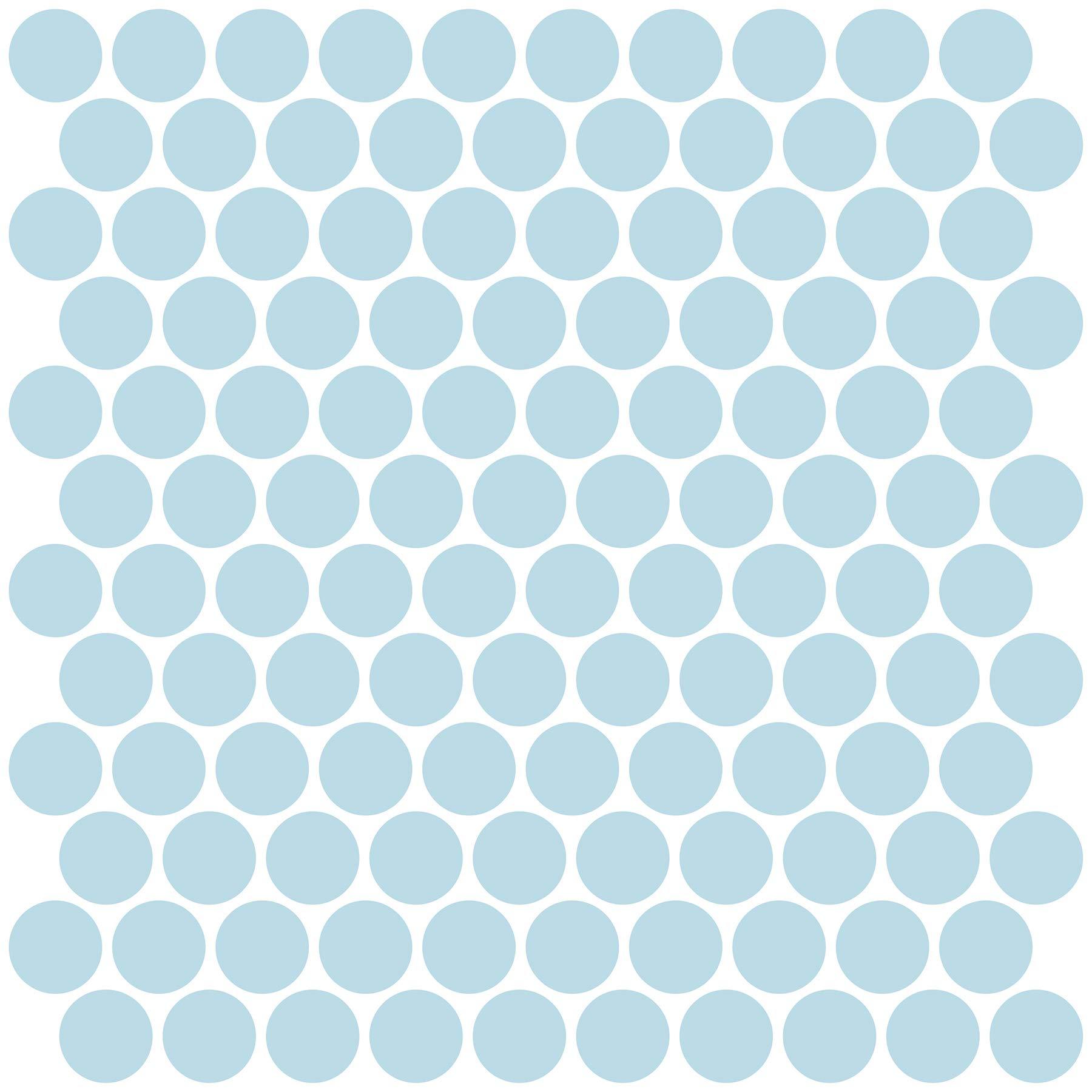 InHome NH2959 Penny Peel & Stick Backsplash Tiles, Blue