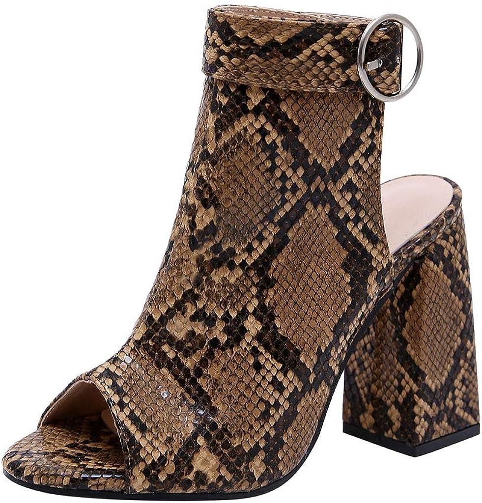 Women's Large Size High Heel Sandals