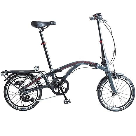 Dahon Bici Pieghevole Prezzo.Dahon Curl I4 Bicicletta Pieghevole Unisex Adulto Antracite 16