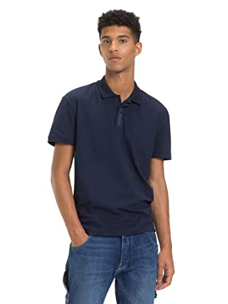 ef53a38d Tommy Jeans mens Placket Polos: Amazon.ae