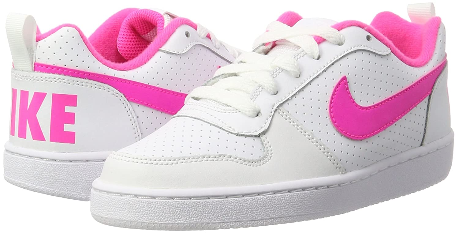 free shipping a5564 51f65 Nike Court Borough Low (GS), Chaussures de Basketball Fille