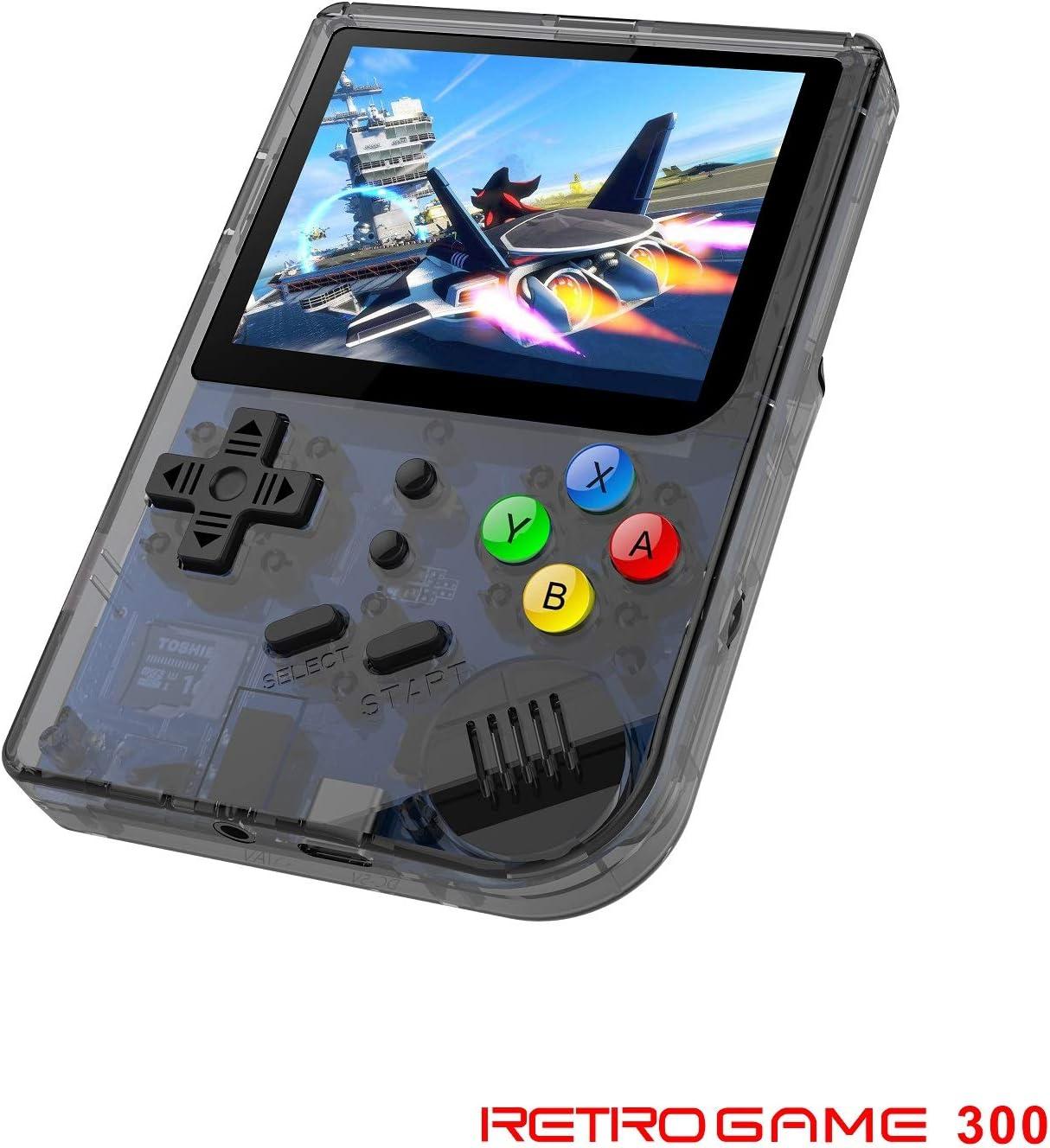 Anbernic Consola de Juegos portátil con Sistema Linux de Apertura Mejorada 2019, Retro con incorporada en 3007 Juegos clásicos, Consola de Videojuegos Vidrio Templado de 3 Pulgadas de