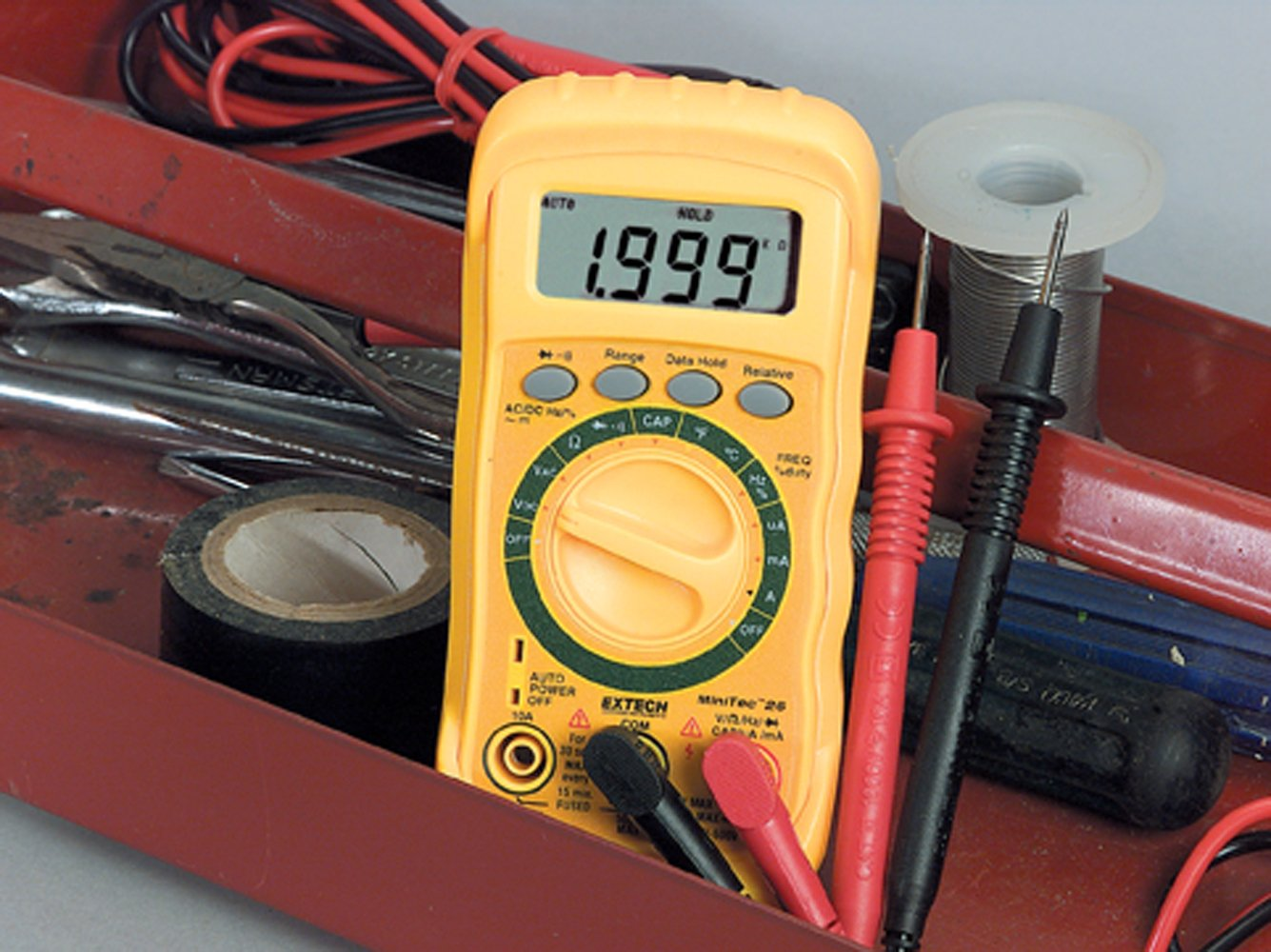 Extech Mn26t Autoranging Multimeter Instruments Corp Ac Circuit Load Tester