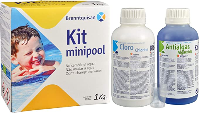 Brenntquisan Kit Mantenimiento y Tratamiento minipiscinas: Amazon ...