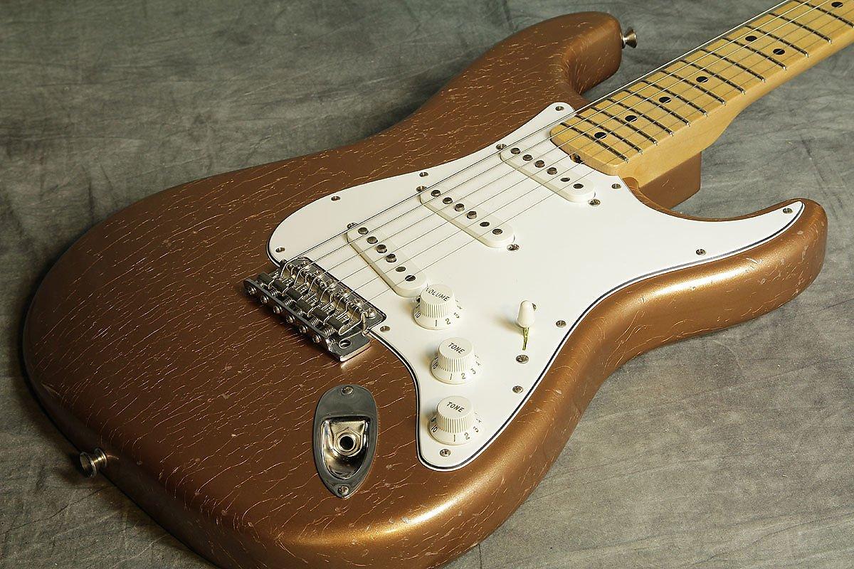 Fender Custom/2016 Builder Select 1969 Stratocaster Firemist Gold Metallic built by Greg Fessler B06X6J67K5