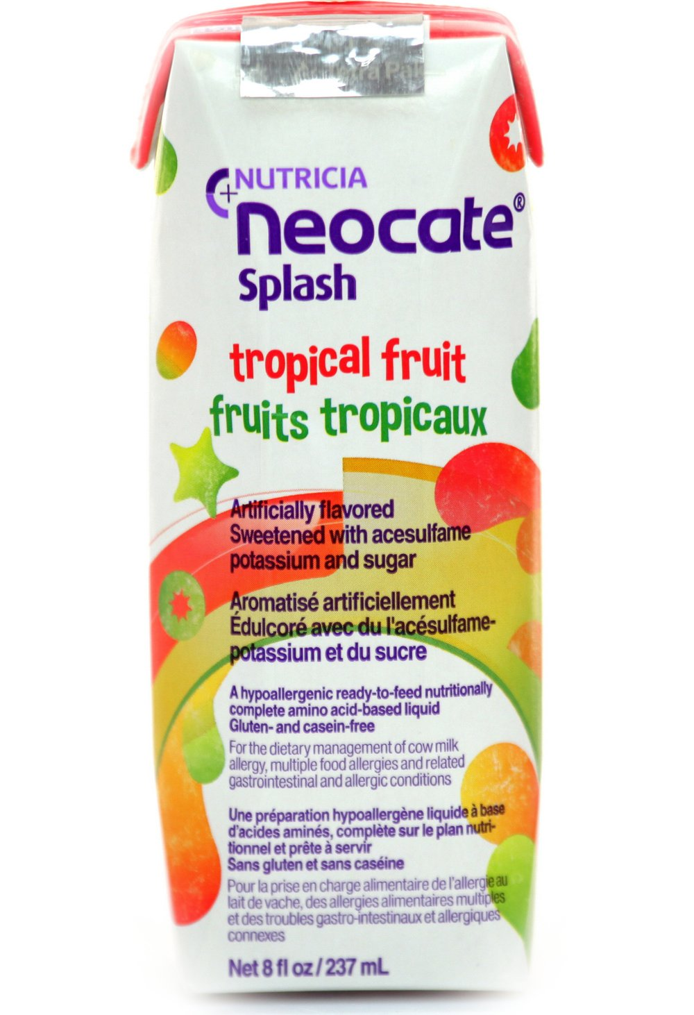 Neocate Splash, Tropical Fruit, 237 mL (Case of 27) by Neocate