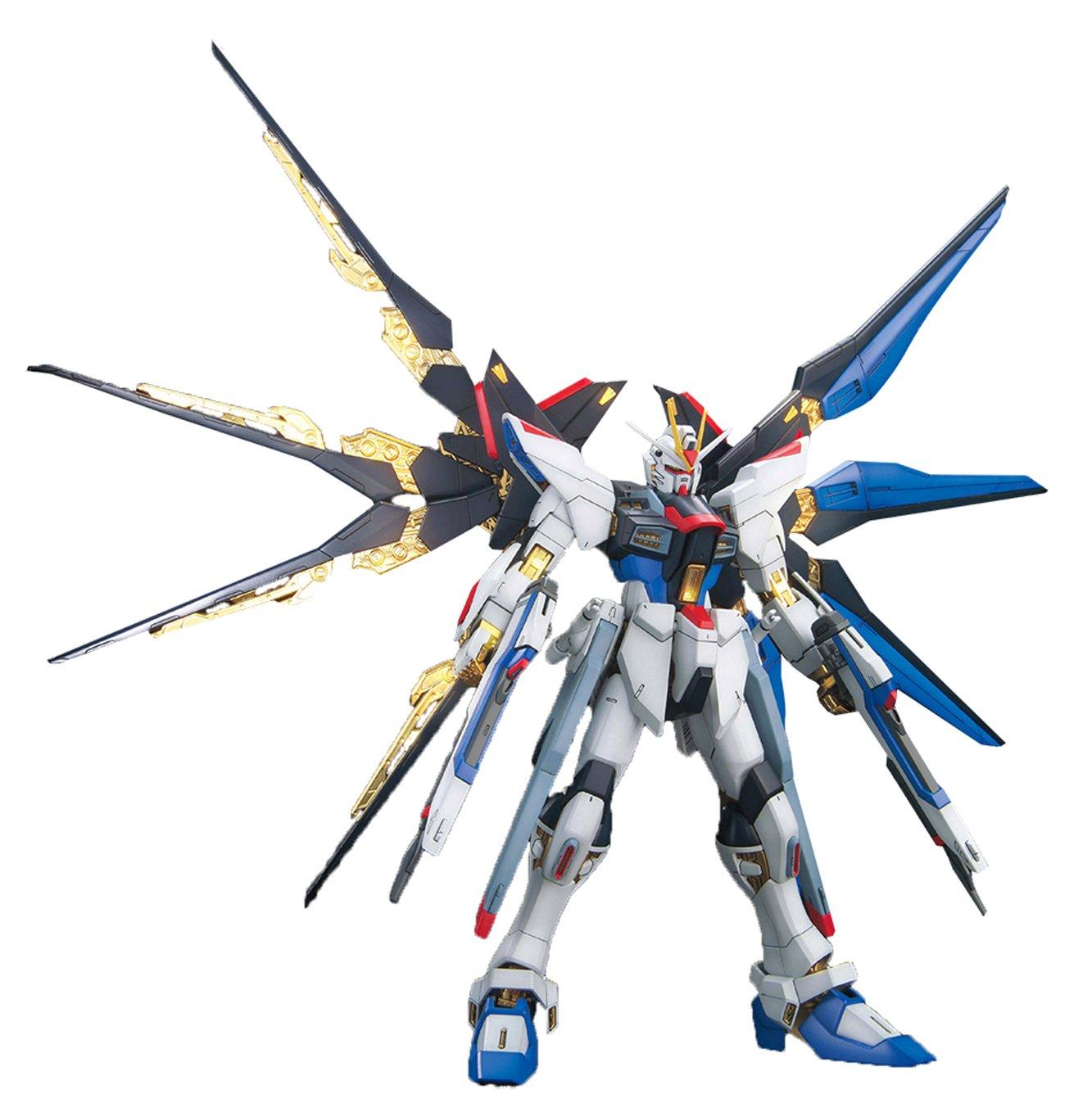ZGMF-X20A Strike Freedom Gundam Full Burst GUNPLA MG Master Größe Gundam Seed 1 100