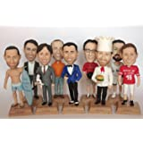 Custom Bobble heads and Figurines with your looks - Businessman - Customized Birthday, Anniversary or Business gift - Personalized Bobble head