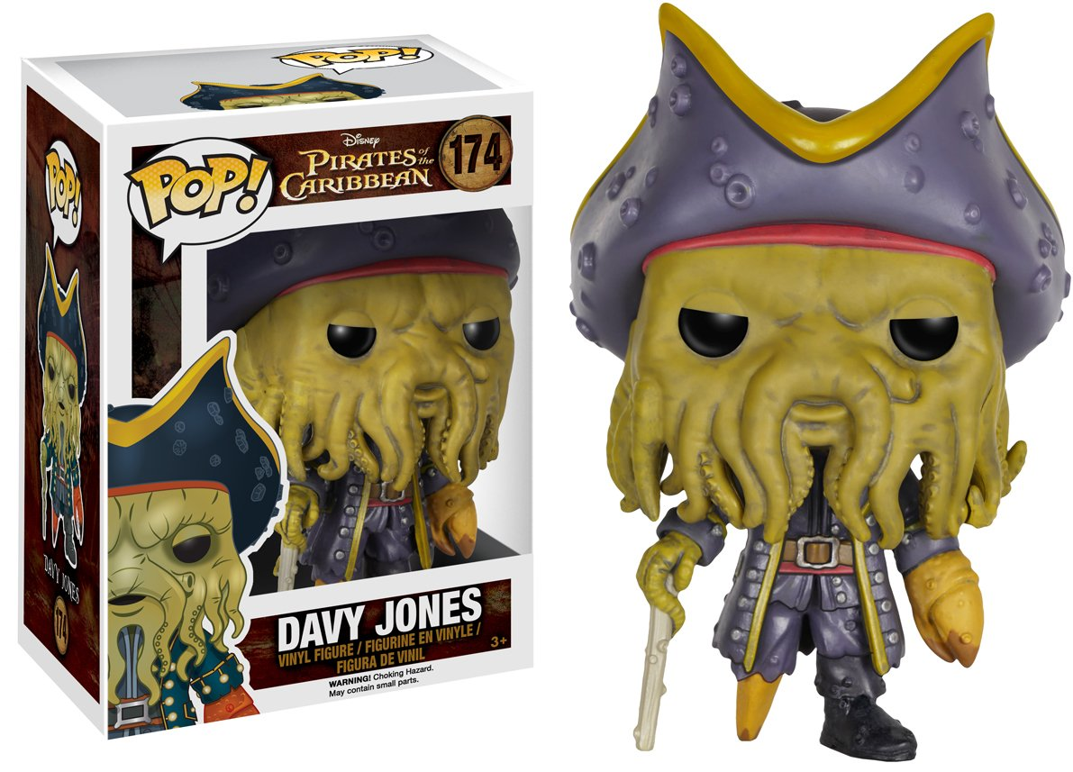 Funko Pop Disney Pirates-Davy Jones Action Figure 7109 Accessory Toys /& Games Miscellaneous