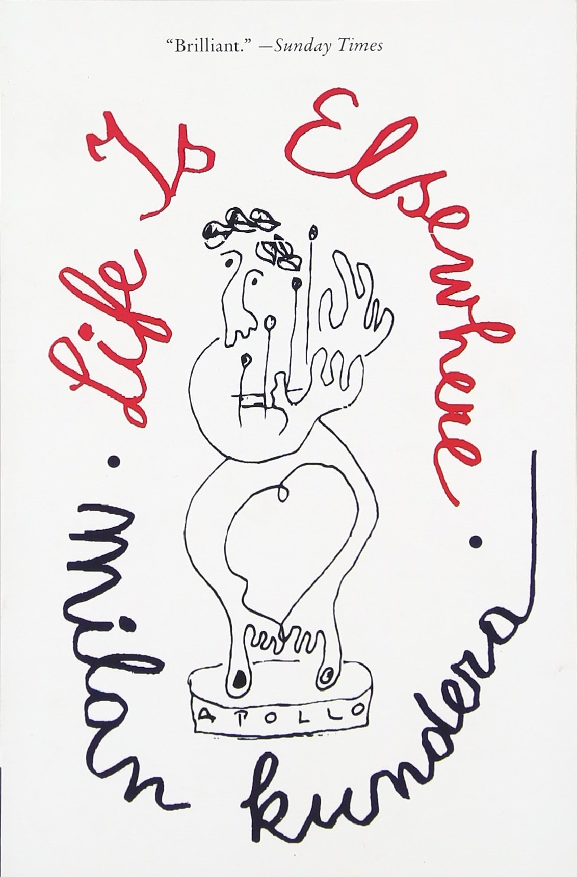 Life Is Elsewhere: Milan Kundera, Aaron Asher: 9780060997021: Amazon:  Books