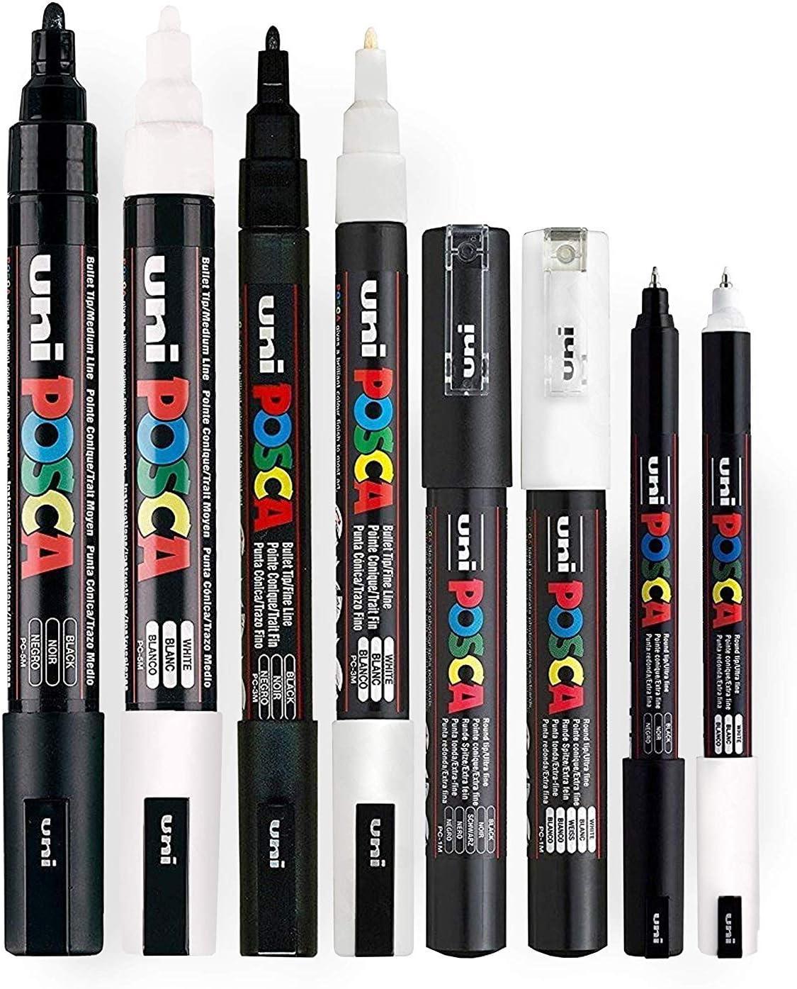 Toutes Couleurs Buy 4,Pay De Posca Marqueur Peinture Stylos PC-5M par Uni-Ball