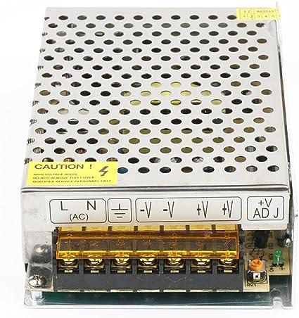 12V 10A Fuente de Alimentación Conmutada,120W Transformador ...