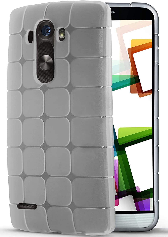 MoEx Funda Protectora OneFlow para Funda LG G3 Carcasa Silicona TPU 1,5mm | Accesorios Cubierta protección móvil | Cubierta Trasera paragolpes Bolso ...