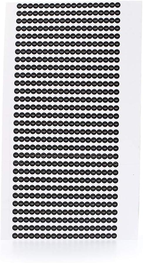 1000 pegatinas de tornillo de vac/ío fr/ágil etiqueta de garant/ía pegatinas de sellado a prueba de manipulaciones