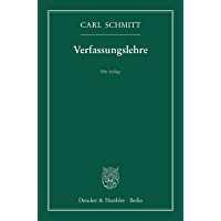 Verfassungslehre. (German Edition) book cover