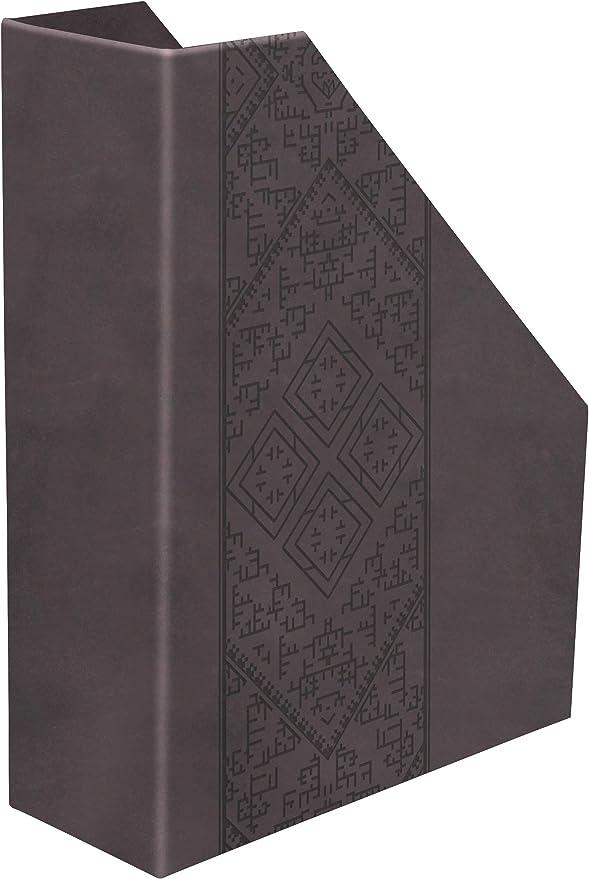 Clairefontaine 83423C Aida - Revistero (25 x 10 x 31 cm, piel sintética): Amazon.es: Oficina y papelería