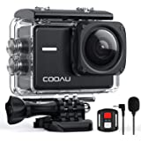 COOAU Native 4K 60fps 20MP Wi-Fi Action Sports Camera with 8XZoom Upgraded EIS Anti-Shake 40M Waterproof Underwater Case…
