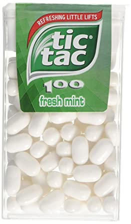 Tic Tac 100 Fresh Mint 49 g (Pack of 12): Amazon.co.uk: Grocery