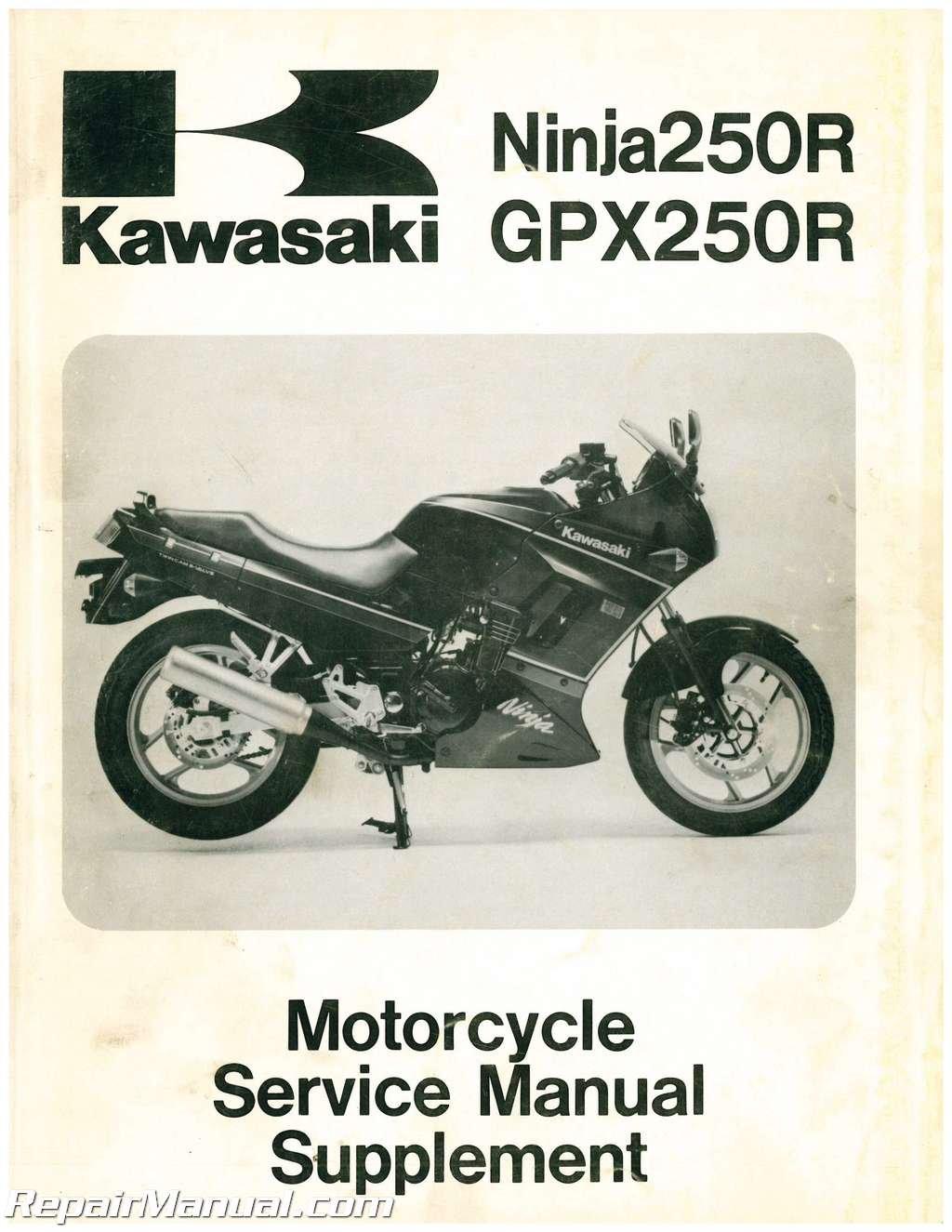Amazon.com: U99924-1109-54 Used 1988-1993 Kawasaki EX250F ...