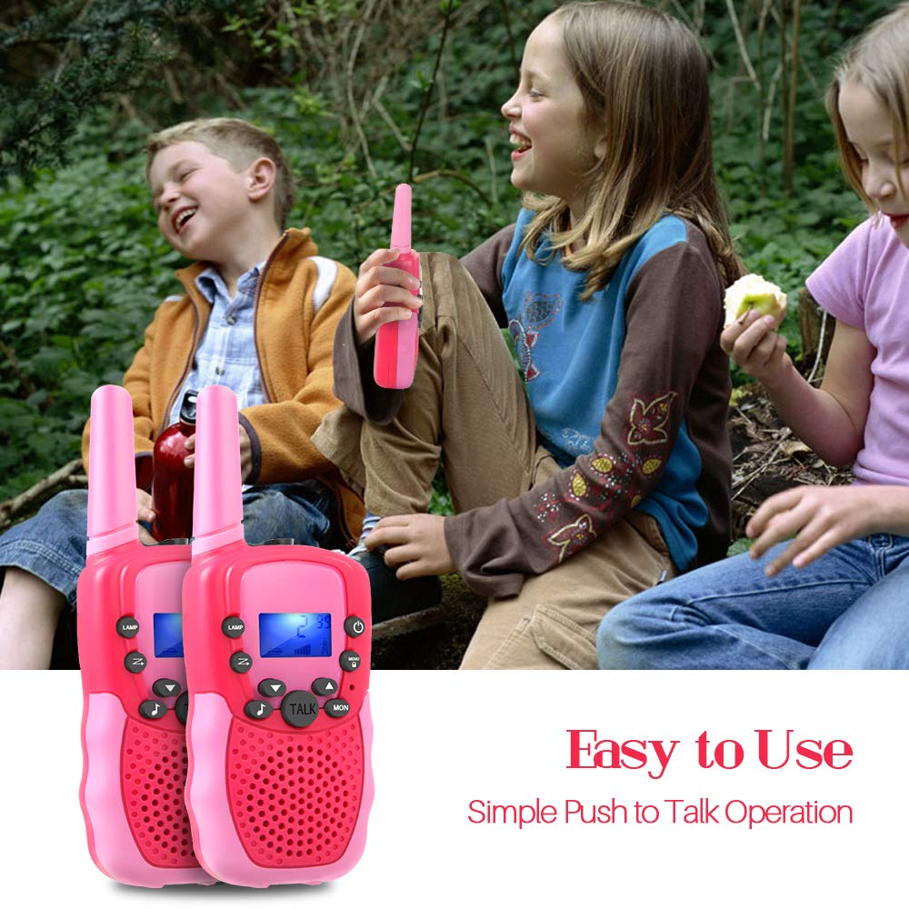 OMWay Outdoor Toys for Toddlers Age 3-5, Kids Walkie Talkies for Girls Age 3-8,2 Way Radio Walkie Talkies,3-12 Year Old Boys Girls Birthday Gifts. by OMWay (Image #7)
