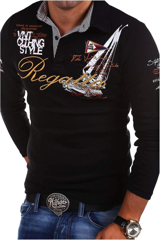 Long-Sleeve T-Shirt MT Styles Polo Shirt R-0665 Regatta