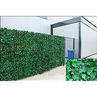 Ivy Hedge Paneles de Hojas Artificiales de Hiedra