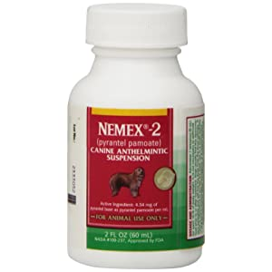 Pfizer Nemex 2 Canine Anthelmintic Suspension