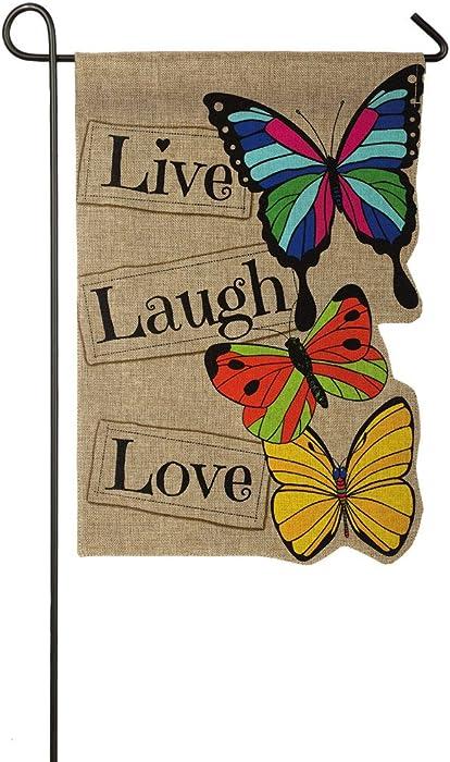 The Best Garden Flags 12 X 18 Live Laugh Love