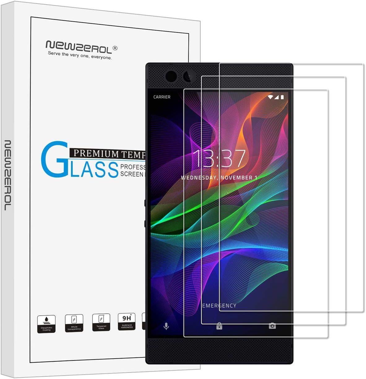 3 Pack] newzerol para Razer teléfono Protector de pantalla (5,7 ...